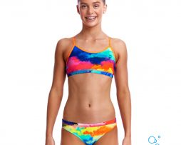Κοριτσίστικο μπικίνι, FUNKITA GIRL RACERBACK TWO PIECE cumulus