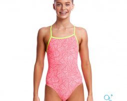 Κοριτσίστικο μαγιο, FUNKITA GIRL TIE ME TIGHT ONE PIECE sweet-venom