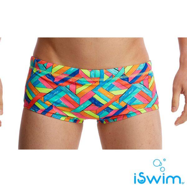 Αντρικο μαγιό κολύμβησης, FUNKY TRUNKS BOY PRINTED TRUNK panel-pop