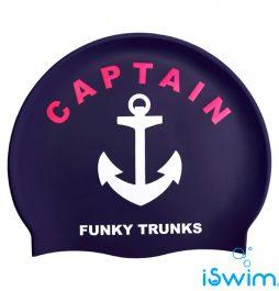 Κολυμβητικό σκουφάκι σιλικόνης, FUNKY TRUNKS SILICONE SWIM CAP captain-funky