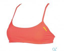Γυναικείο μαγιό πισίνας αντοχής στο χλώριο, ARENA 001110-913-BANDEAU PLAY-001-FL-S