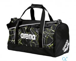 Τσάντα χειρός, ARENA WATER SPIKY 2 MEDIUM BLACK FLUO GREEN