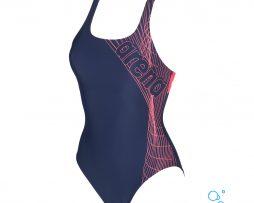 Γυναικείο μαγιό πισίνας αντοχής στο χλώριο, ARENA 001639-791-W ALTAIR SWIM PRO ONE PIECE-001-FL-S