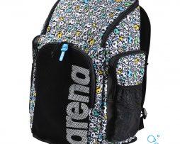 Τσάντα πλάτης, ARENA TEAM 45 BACKPACK ALLOVER FACES ARENA 001946-102-TEAM 45 BACKPACK ALLOVER-003-BL-S_002