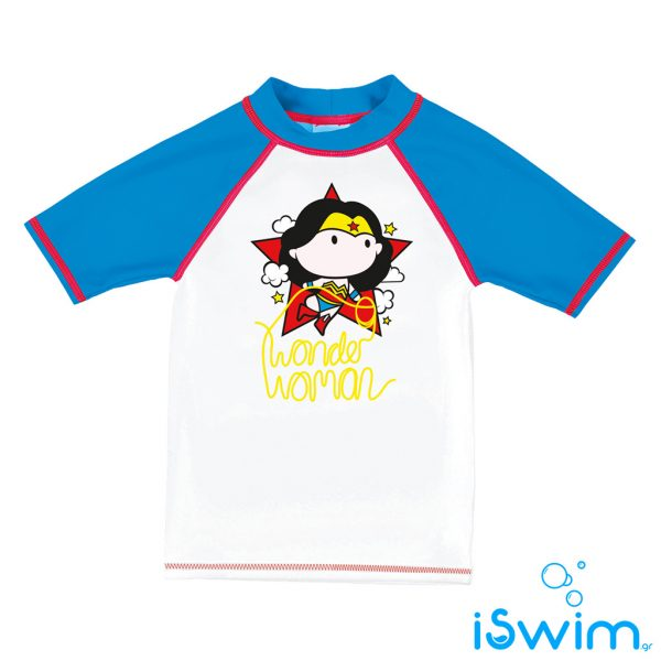 UV προστασία, ARENA 002080-108-WONDER WOMAN KIDS GIRL UV SS TEE-005-F-S