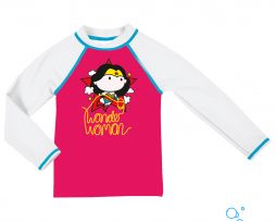 UV προστασία, ARENA 002081-911-WONDER WOMAN KIDS GIRL UV LS TEE-005-F-S