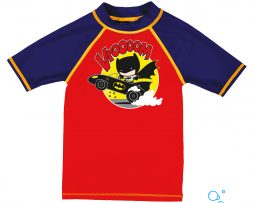 UV προστασία, ARENA 002109-407-BATMAN KIDS BOY UV SS TEE-005-F-S