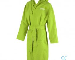 Γυαναικείο μπορνούζι, ARENA ZEAL FLUO GREEN MICROFIBER BATHROBE