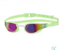Αγωνιστικά γυαλάκια κολύμβησης, SPEEDO FASTSKIN ELITE MIRROR GREEN.WHITE 09289C763