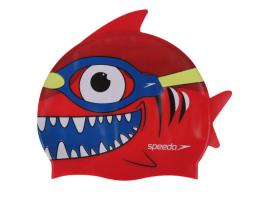 Κολυμβητικό παιδικό σκουφάκι από σιλικόνη, SPEEDO JUNIOR SILICONE SEA SQUAD CHARACTER CAP 08769B362