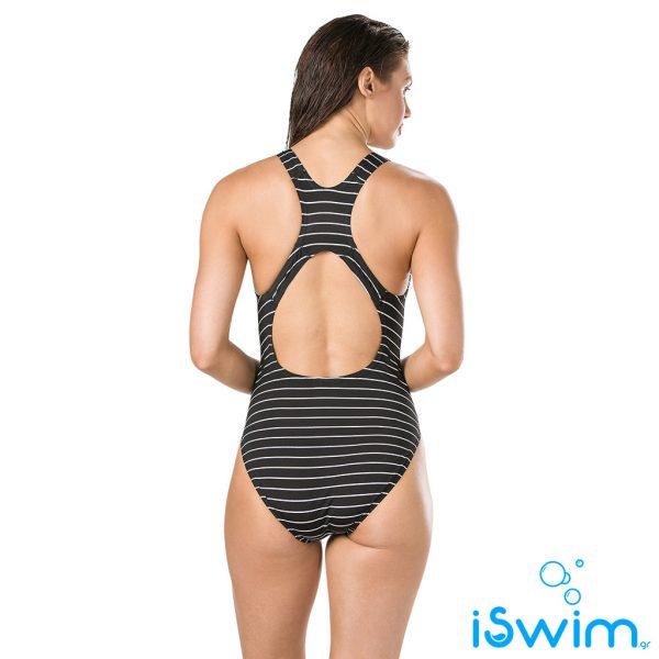 Γυναικείο μαγιό πισίνας αντοχής στο χλώριο, SPEEDO WOMAN ENDURANCE PRINTED MEDALIST 11692C891B
