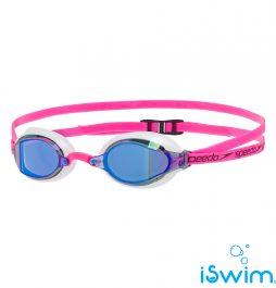 Αγωνιστικά γυαλάκια κολύμβησης, SPEEDO SPEEDSOCKET 2 MIRROR FUCHSIA.BLUE.WHITE 10897C781A